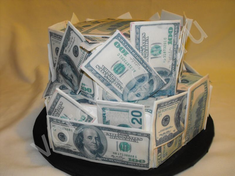 Торт Кейс с деньгами пошаговый рецепт с фотографиями 18