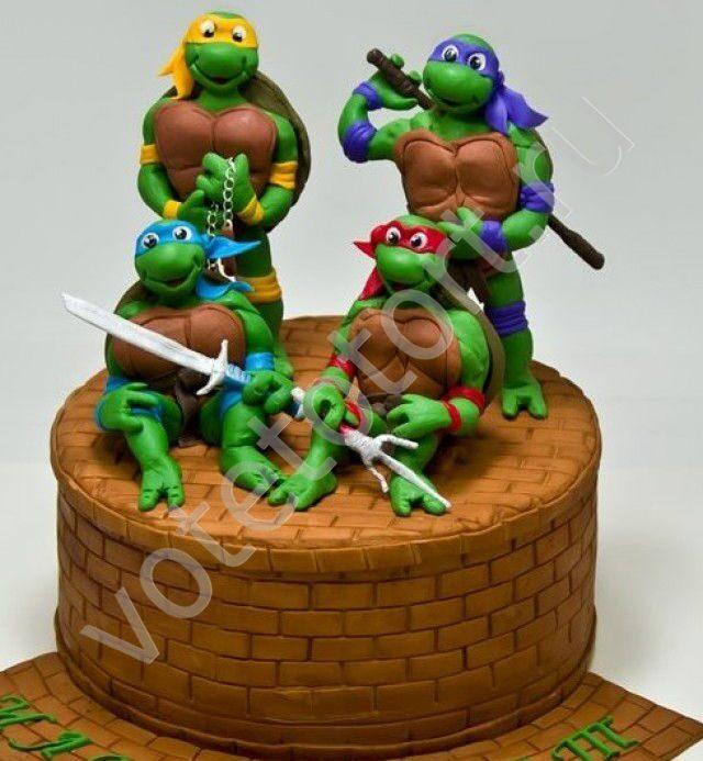 картинки тортов для мальчиков
