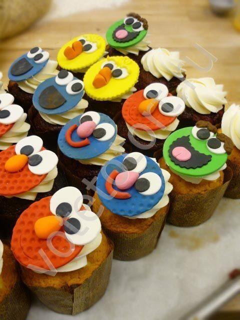 Пирожное на детский день рождения