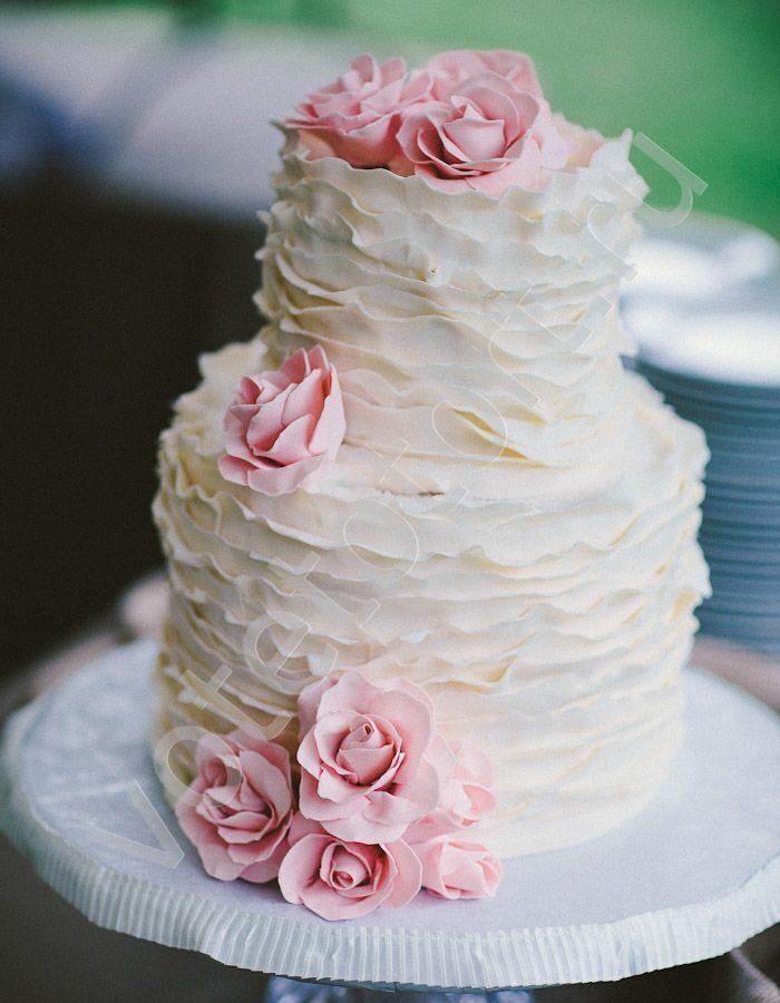 Свадебные торты 2 ярусные