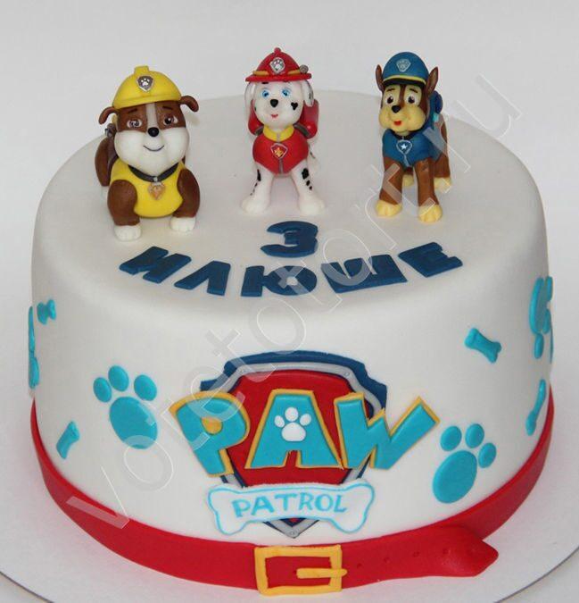 Торт щенячий патруль фото своими руками 17