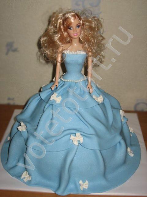 Фото торт кукла своими руками