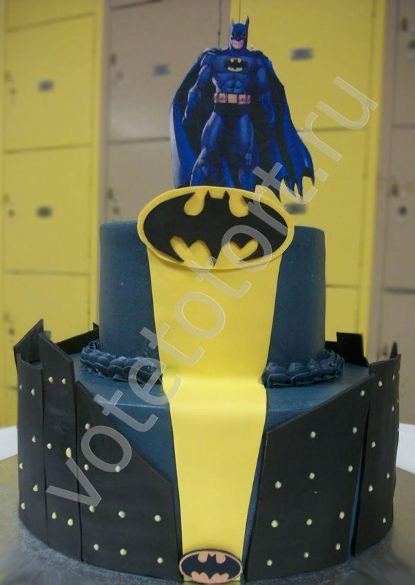 Торт бетмен фото