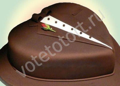 Как украсить торт мужу на день рождения своими руками
