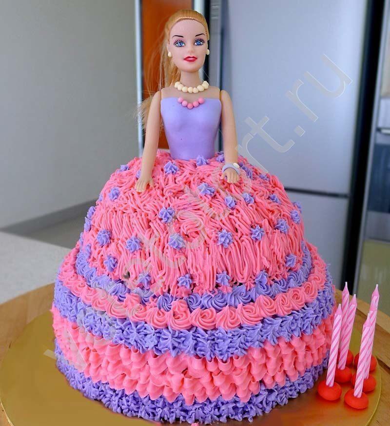 Торт Кукла Барби пошаговый рецепт с фото в домашних условиях 72
