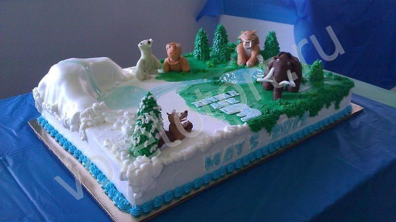 Фото торт ледниковый период