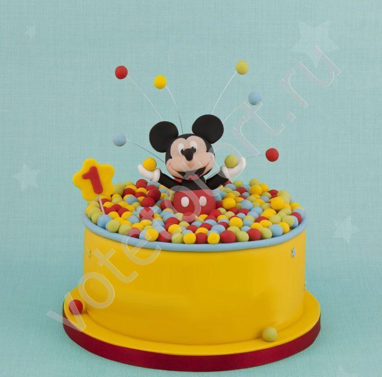 Торт микки маус арт 8743 заказать торт