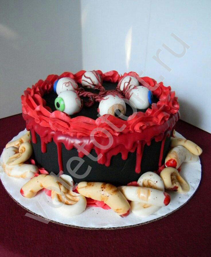 страшные съедобные торты фото