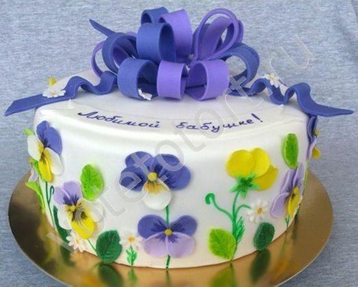 фото торты с днём рождения