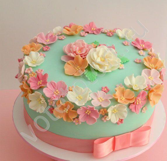 торт бабушке на юбилей фото