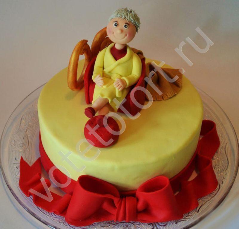Как сделать торт для бабушки