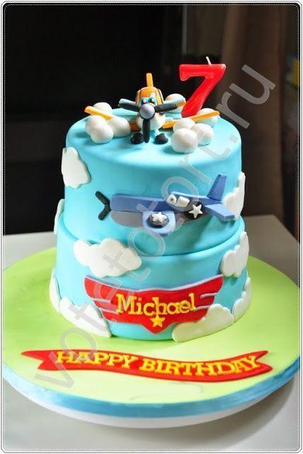 Торт самолет арт 8873 заказать торт