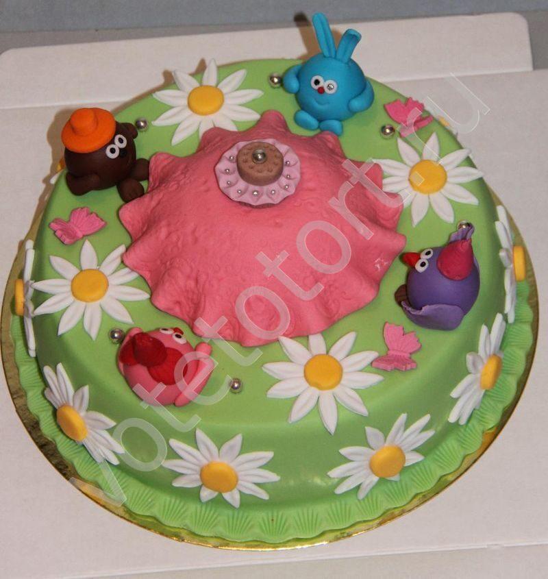 рецепты тортов с фотографиями смешарики