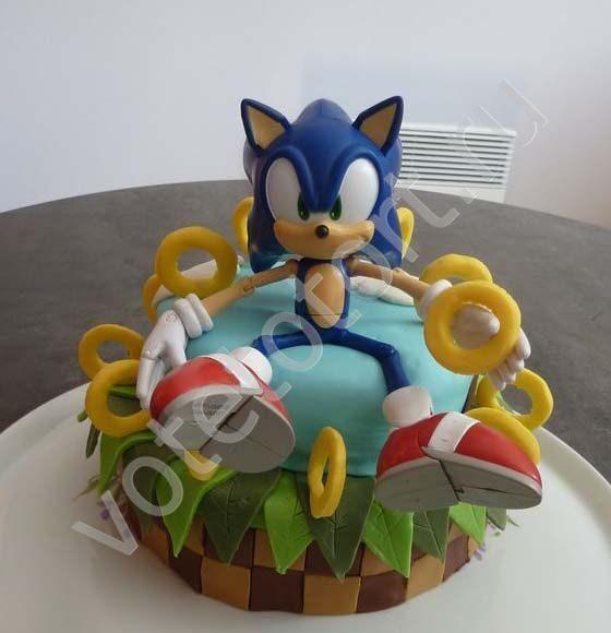 торт соник икс фото