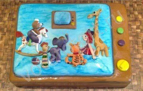 торт спокойной ночи малыши фото