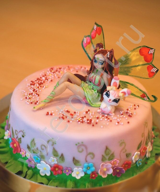Фото детских тортов винкс