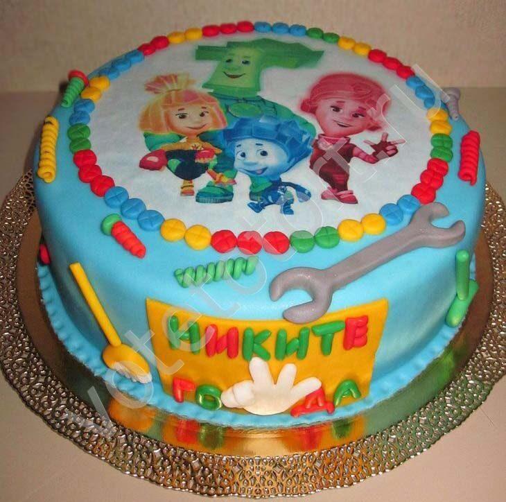 Детские торты-картинки