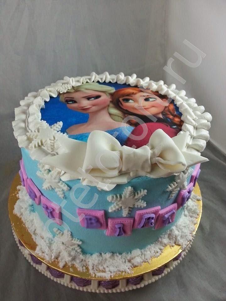 Торт холодное сердце арт 8983 заказать