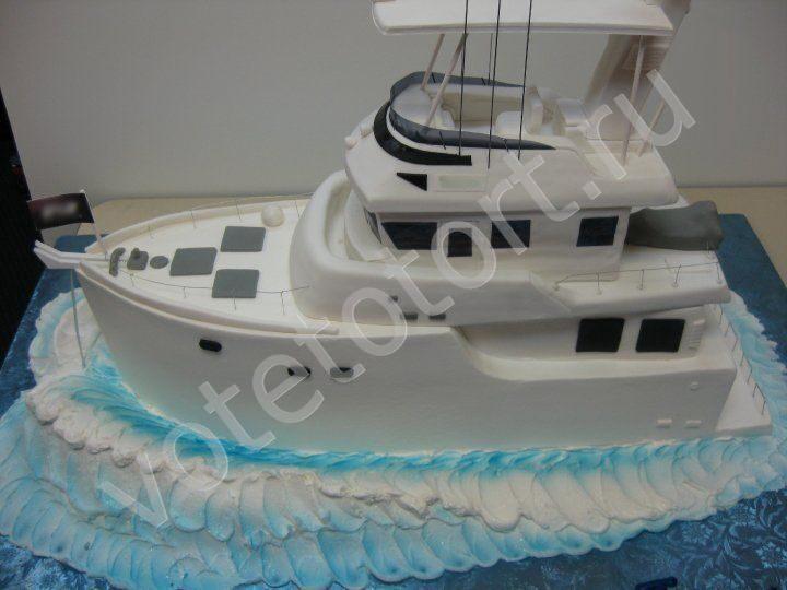 Как сделать торт в виде корабля 13