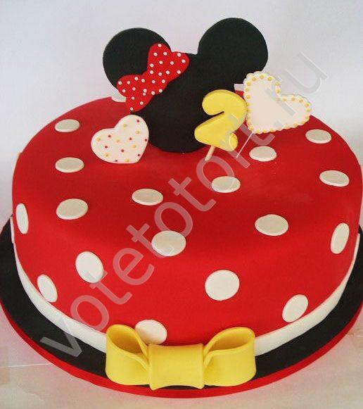 Торт мини маус фото