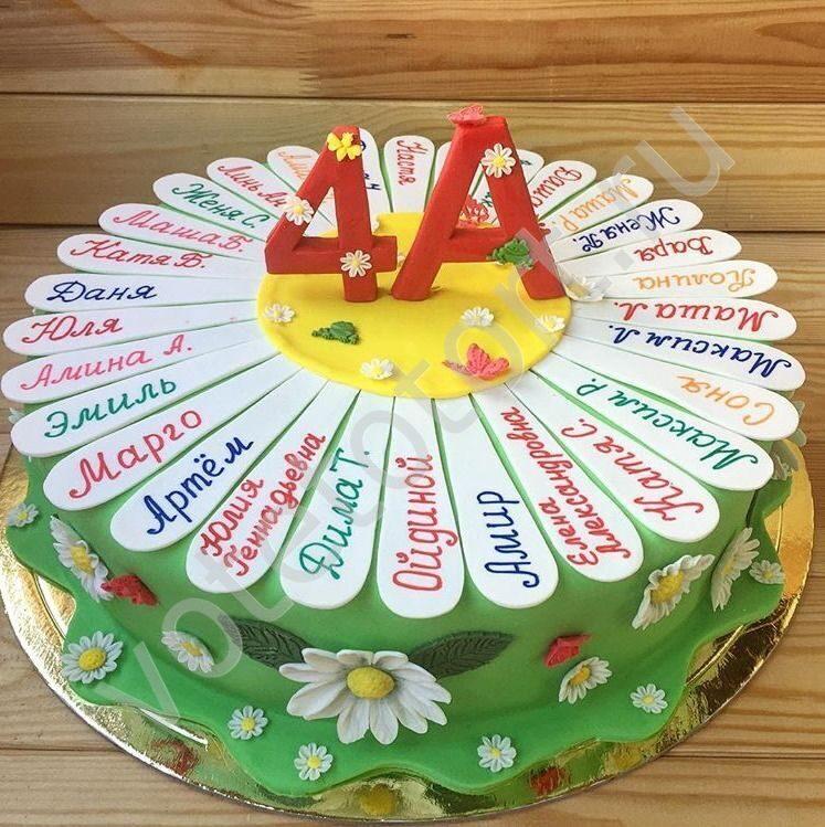 торт для школьника фото