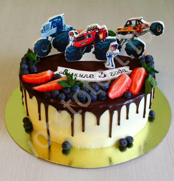 Торт вспыш своими руками 48