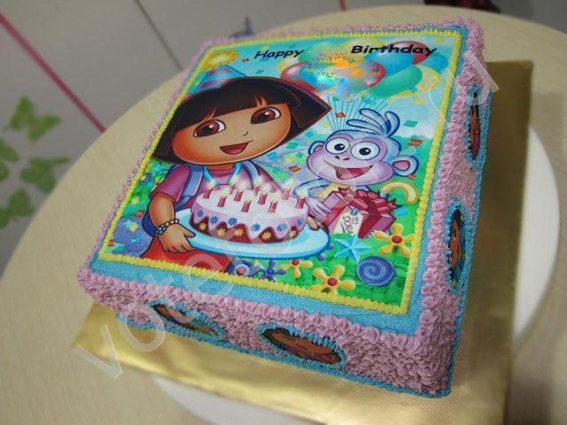 Картинка даша путешественница с тортом