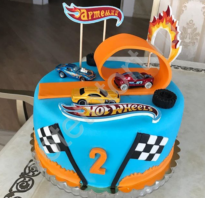 Торт Hot Wheels Арт. 8065