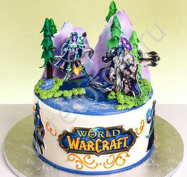 торт варкрафт фото что отправляетесь